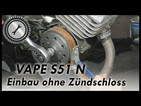 VAPE Einbau S51 N - Vape ohne Zündschloss - Simson Tutorial