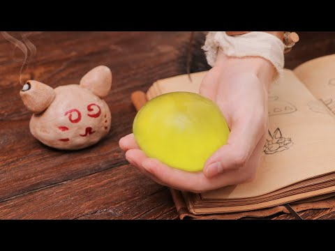 RICO做出魔物獵人中的回復蜜球
