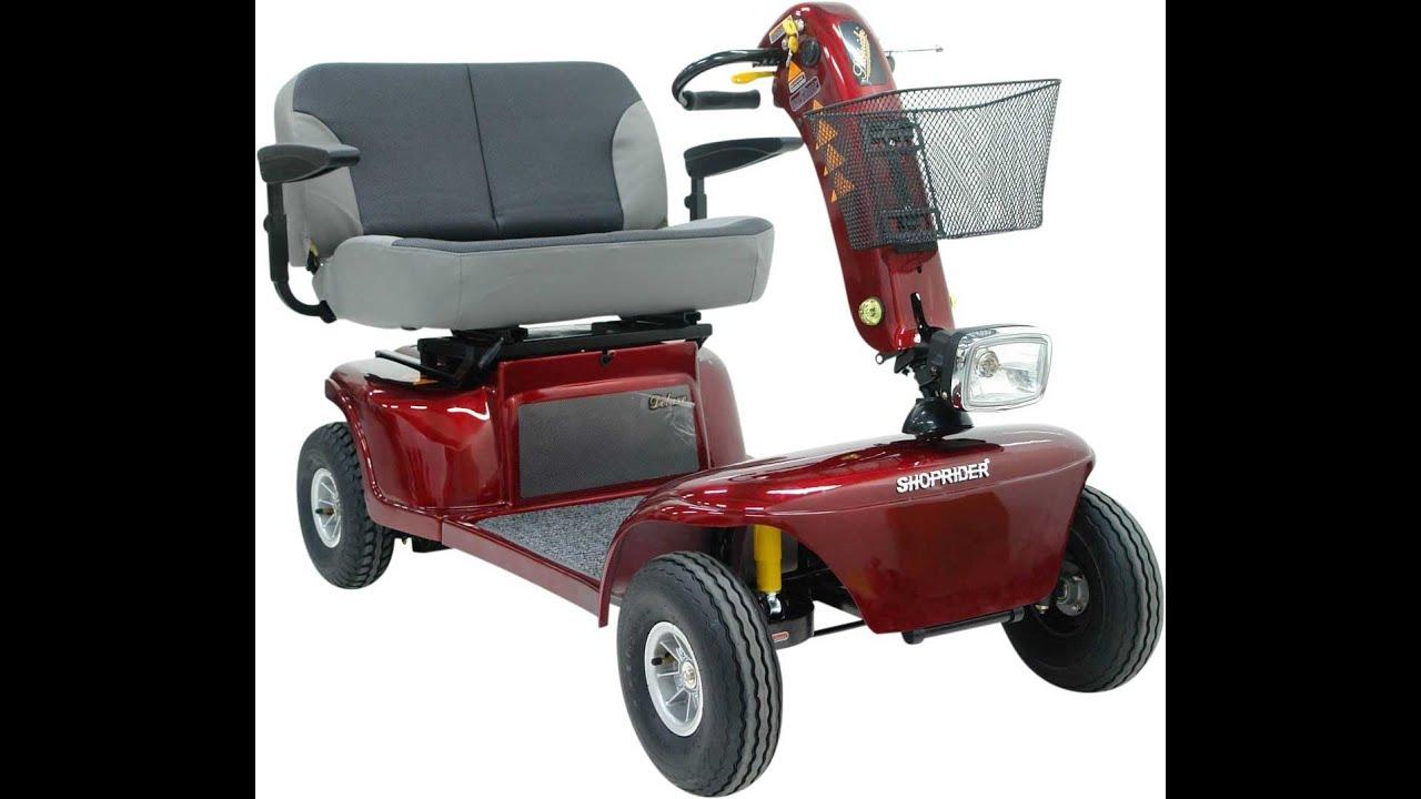 SHOPRIDER Big (6 km/h) – XXL-/Doppelsitzer-Elektromobil