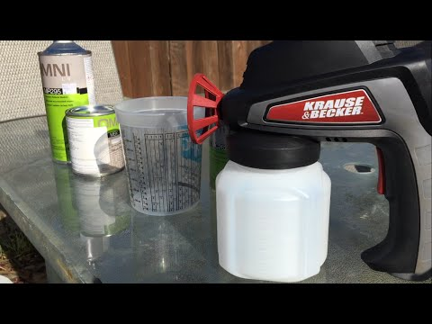 Harbor Freight electric spray gun