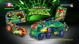 Želvy Ninja - motorka a tank