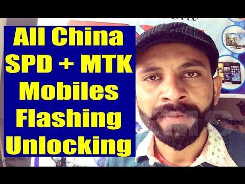 4K) China SPD, MTK Keypad Mobile Flash Unlock Without Box 2019
