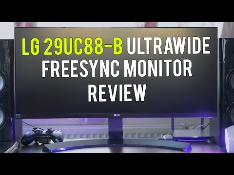 LG 29UC88 Monitor Játékra, Filmre, Videoszerkesztésre