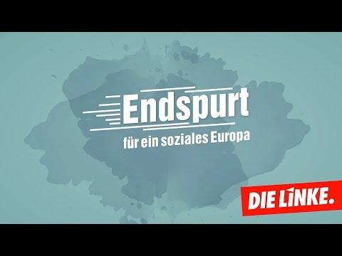 Endspurt zur Europawahl