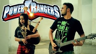 POWER RANGERS THEME - MIGHTY MORPHIN BAGPIPE METAL COVER