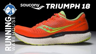 Saucony Triumph 18 Review | Top Highly Cushioned Daily Trainer of the Year???