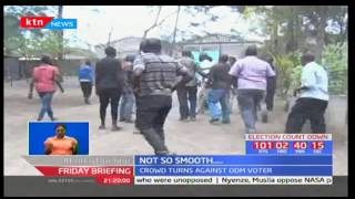 Find out how an unregistered man turned ODM Nakuru primaries into a chaotic zone