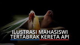 Mahasiswi Kebidanan Meninggal Dunia Tertabrak Kereta Api di Simpang Polonia Padang