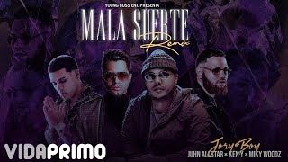Video Mala Suerte (Remix) de Jory Boy feat. Ken-Y y Miky Woodz
