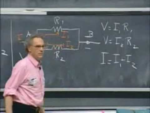 Lec 09: Currents, Resistivity and Ohm's Law | 8.02 Electricity and Magnetism (Walter Lewin)