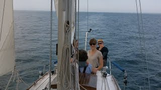 "Sailing ""Thanks Dad"" - Winds were supposed to be 10-15 knots...NOT!"