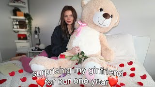 Surprising My Girlfriend On Our 1 Year Anniversary..