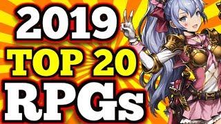 TOP 20 Mobile RPG's 2019 So Far !! - (Gacha/Hero Colllectors, MMO's,RPGs)