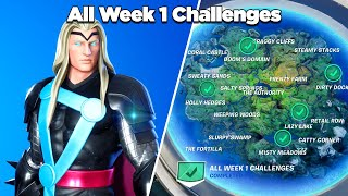 Fortnite All Week 1 Challenges Guide (Fortnite Chapter 2 Season 4)