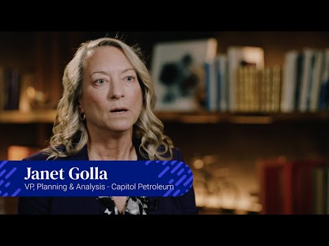 Planful Customer Spotlight - Capitol Petroleum