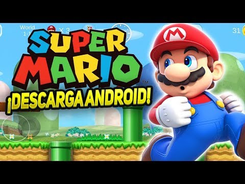 DESCARGA NUEVO ÉPICO SUPER MARIO EN HD PARA ANDROID!