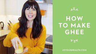 How to Make Homemade Ghee