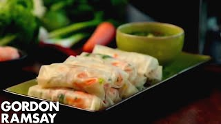 Fresh Prawn Rolls - Gordon Ramsay