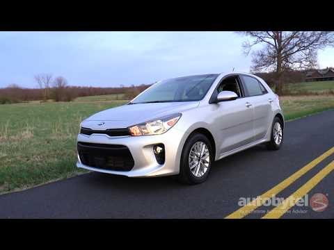 Kia Rio EX Hatchback Test Drive Video Review