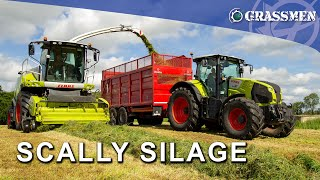 A 'Claas' Day out with Scally Silage!