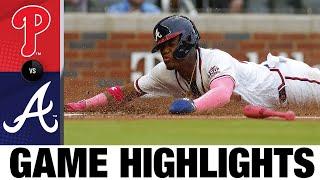 Điểm nổi bật của trò chơi Phillies vs. Braves (5/9/21) | MLB Highlight