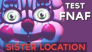Qué personaje animatronico FNAF Sister Location eres ? Descúbrelo ahora! :D ↠↠ ¡No te olvides de suscribirte para no perderte ningún test!