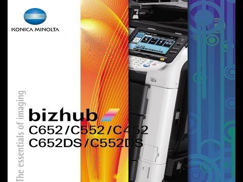 Konica Minolta bizhub C452, C552, C652