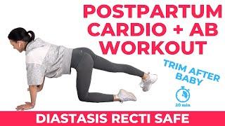 Postpartum Cardio + Diastasis Recti Workout