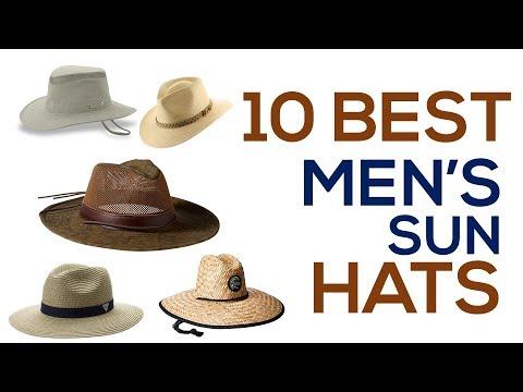 10 Best Men's Sun Hats