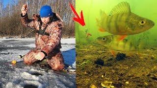 Блесна чертик для зимней рыбалки