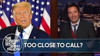 Trump Supporters Upset About Fox News Calling Arizona for Biden | The Tonight Show