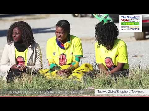 Highlights of the Zanu PF march June 6 2018