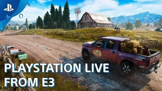 Far Cry 5 PS4 Gameplay Demo - with Hired Gun Nick Rye | E3 2017