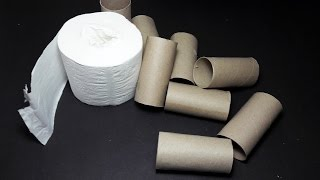  DIY  3 Creative Ideas With Toilet Paper Roll    Toilet Paper Roll Craft Ideas & Hacks