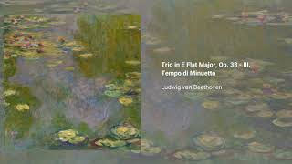 Trio in E-flat major, Op. 38