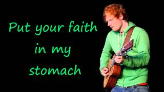 I'm A Mess -  Ed Sheeran (lyric video)