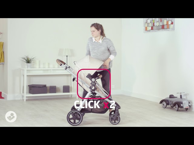 Maxi-Cosi l Zelia pushchair l How to covert from bassinet to seat