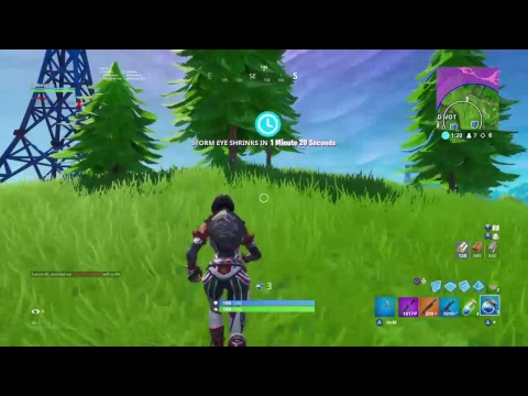 Fortnite Zone Wars Decent Console Player Grind 100 Subs Youtube