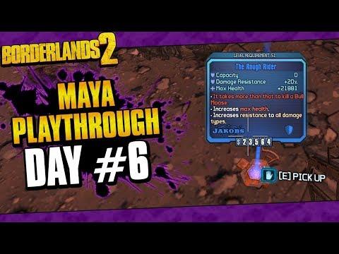 Borderlands 2 | Maya Reborn Playthrough Funny Moments And Drops | Day #6