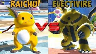 Pokemon battle revolution - Raichu vs Electivire