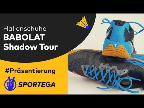 Herren Hallenschuhe Babolat Shadow Tour Black/Red/Blue