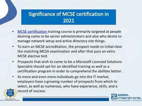 MCSE certification cost in Dubai - How many MCSE certifications ...