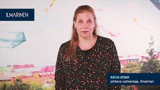 Puheeksiotto, Katja Atsar, johtava valmentaja, Ilmarinen
