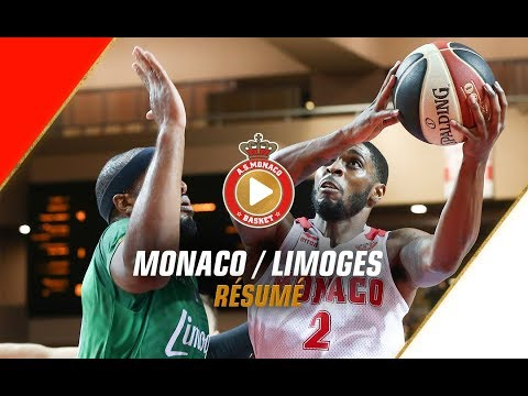 Jeep Elite — Monaco 87 - 68 Limoges — Highlights