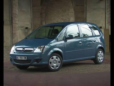 Essai Opel Meriva 2009