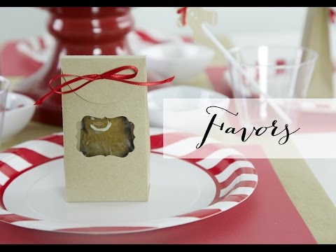 How to Throw a Gingerbread Cookie Party Part 3 | Sizzix DIY Parties & Events