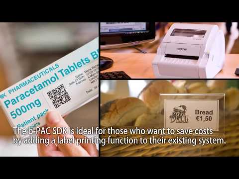 Label Printer Solutions with Brother Software Development Kits (b-PAC SDK)