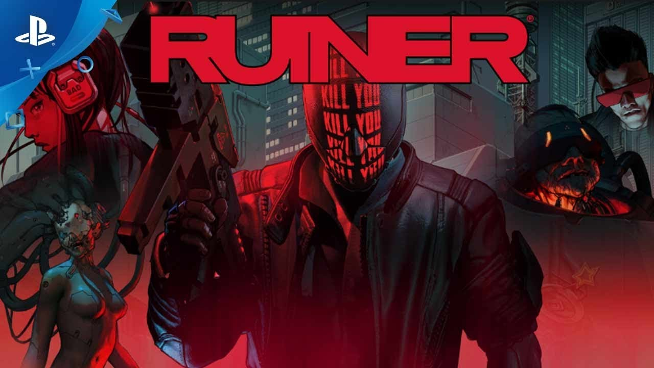 Movement is Life: Ruiner Hits PS4 on September 26