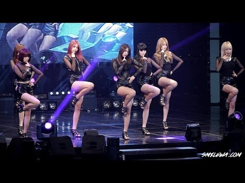 131104 AOA - 흔들려 (Confused) @철원 위문열차 직캠 by -wA- [Re-UP]