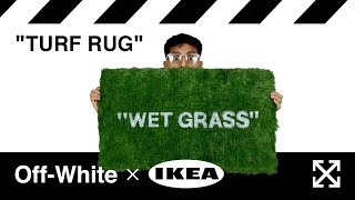$249 Off-White X IKEA Rug For Less Than $30?!?! | DIY